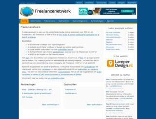 freelancenetwerk.nl screenshot