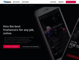 freelancer.mx screenshot