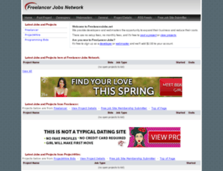 freelancerjobs.net screenshot
