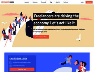 freelancersunion.org screenshot