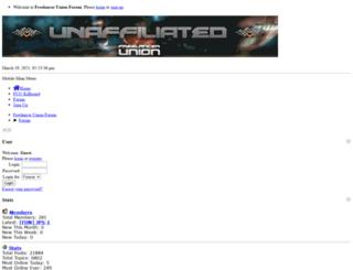 freelancerunion.co.uk screenshot