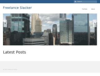freelanceslacker.com screenshot