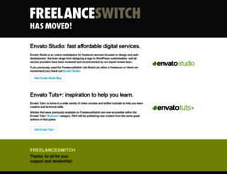 freelanceswitch.com screenshot