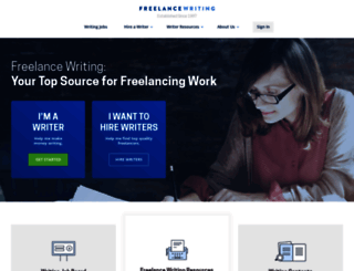 freelancewriting.com screenshot