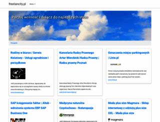 freelancity.pl screenshot