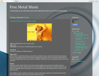 freelegalmetalmusic.blogspot.com.ar screenshot
