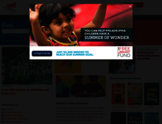 freelibrary.org screenshot
