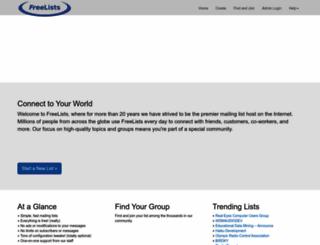 freelists.org screenshot