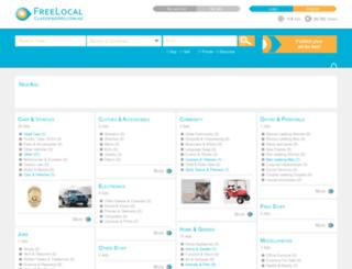 freelocalclassifiedads.co.nz screenshot