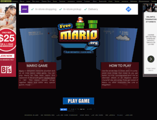 freemario.org screenshot