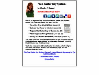 freemasterkeysystemcharlesfhaanel.com screenshot