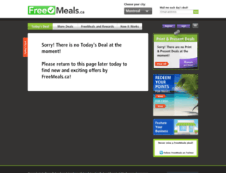 freemeals.ca screenshot
