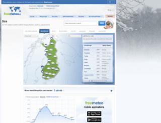 freemeteo.fi screenshot