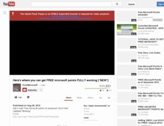 freemicrosoftpointz.com screenshot