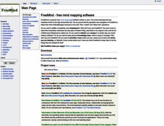 freemind.sourceforge.net screenshot