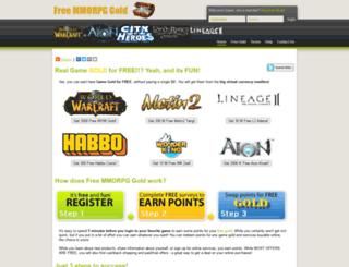 freemmorpggold.com screenshot
