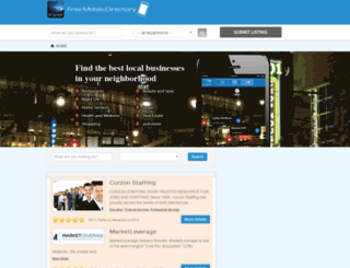 freemobiledirectory.com screenshot