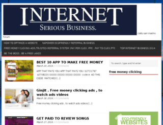freemoneyclicking.com screenshot