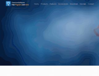 freemoresoft.com screenshot