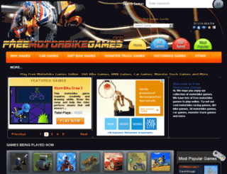 freemotorbikegames.org screenshot