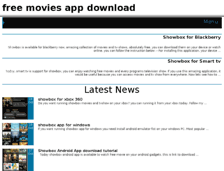 freemoviesapp.org screenshot