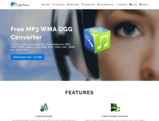 freemp3wmaconverter.com screenshot