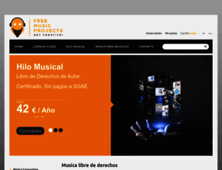 freemusicprojects.com screenshot