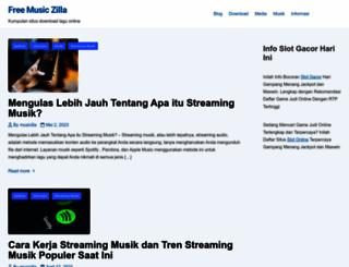 freemusiczilla.com screenshot