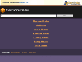 freemyanmarvcd.com screenshot