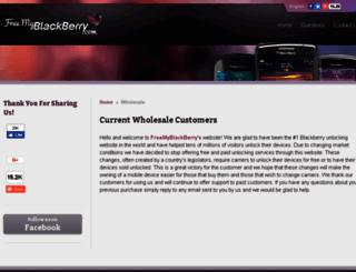 freemyblackberry.com screenshot