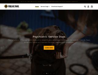 freemypaws.com screenshot