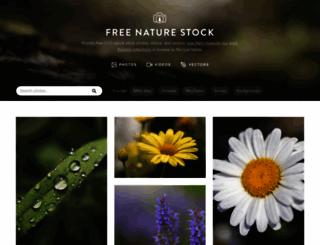 freenaturestock.com screenshot