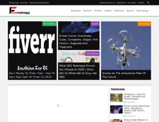 freenology.com screenshot