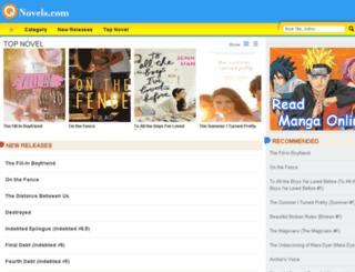 freenovelsonline.net screenshot