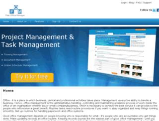freeofficemanager.com screenshot
