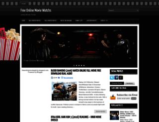 freeonlinemoviewatchs.blogspot.com screenshot