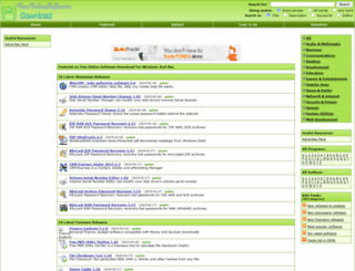 freeonlinesoftwaredownload.com screenshot