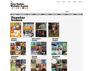 freeonlinewebsitegames.com screenshot