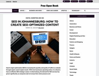 freeopenbook.com screenshot