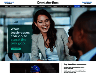 freep.com screenshot