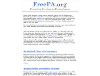freepa.org screenshot