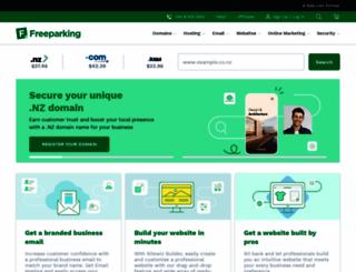 freeparking.co.nz screenshot