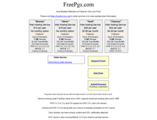 freepgs.com screenshot