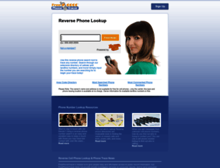 freephonetracer.com screenshot