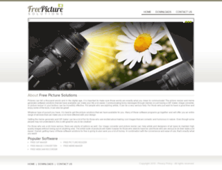 freepicturesolutions.com screenshot
