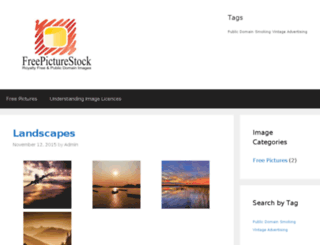 freepicturestock.com screenshot