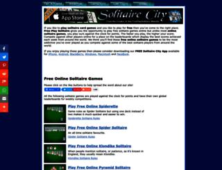 freeplaysolitaire.com screenshot