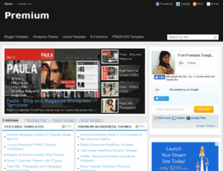 freepremiumtemplate.com screenshot