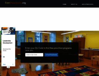 freepreschools.org screenshot
