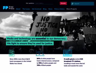 freepress.net screenshot